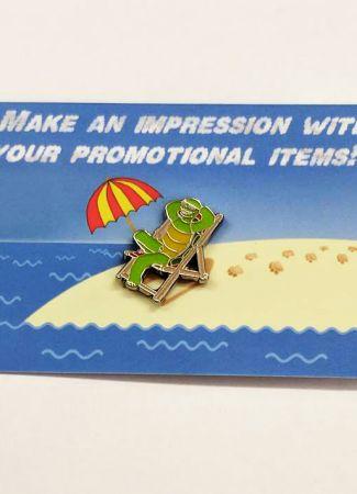Enamel Pin Badges on Backing Cards