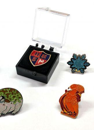 Glitter Enamel Badges
