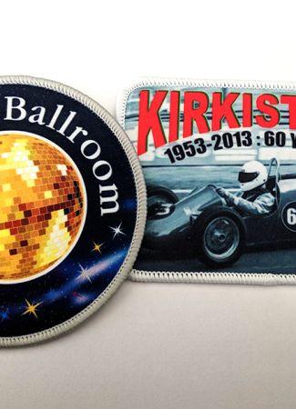 Printed Fabric Badges