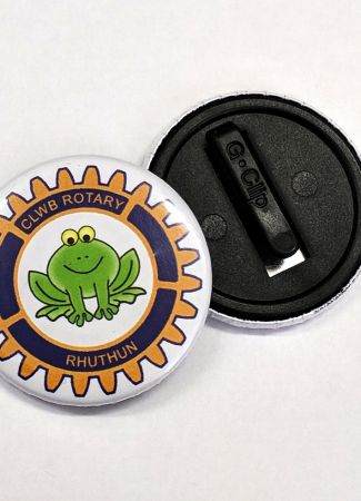 Kidsafe Button Badge