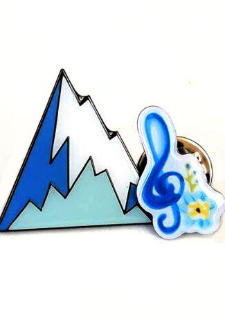 Soft Enamel Badge and Printed Metal Badges