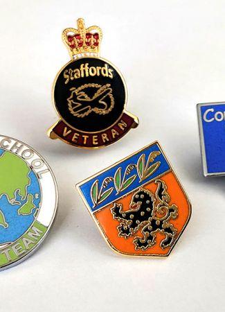 Traditional Hard Enamel Badges