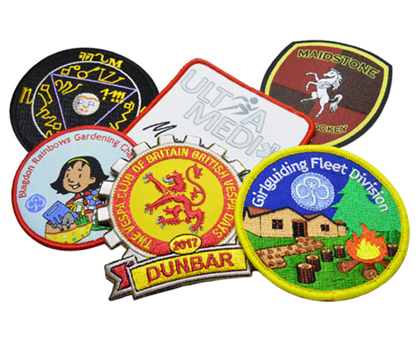 Embroidered and Woven Badges - Patches made with your own designs