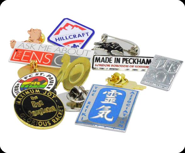 Enamel Badges - bespoke lapel pins