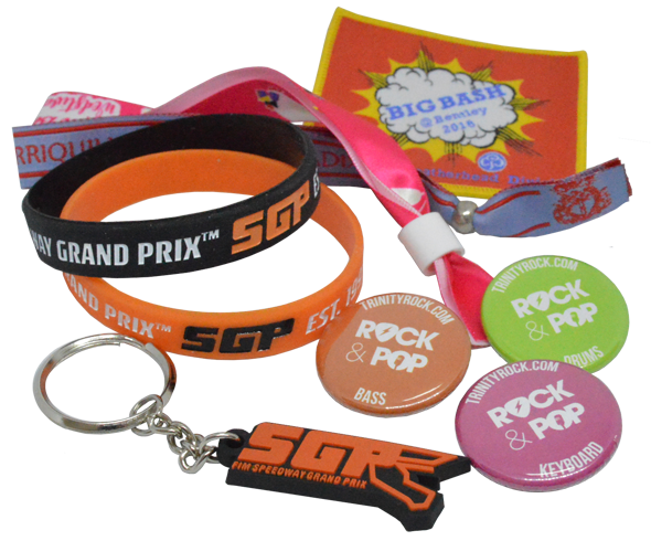 Badges and More for Festivals, Shows and Events