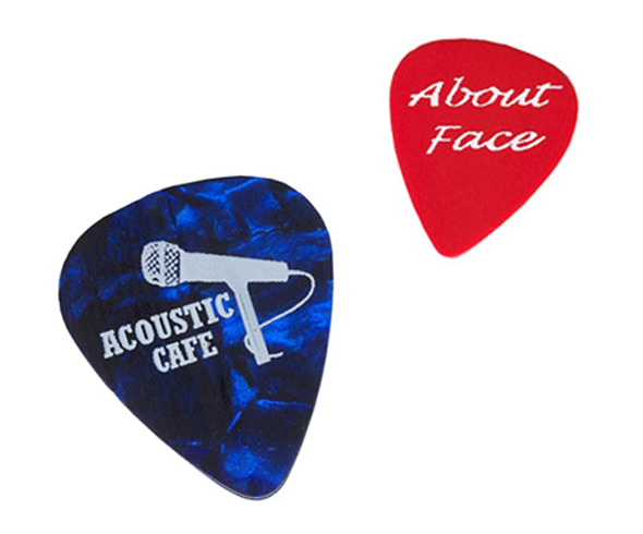 Guitar Picks - Custom printed playable quality plectrums