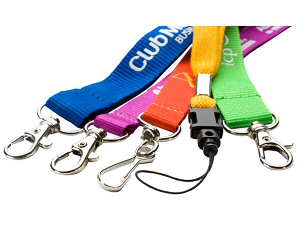 Lanyards - Ribbed Polyester, Smooth or Tube Lanyards