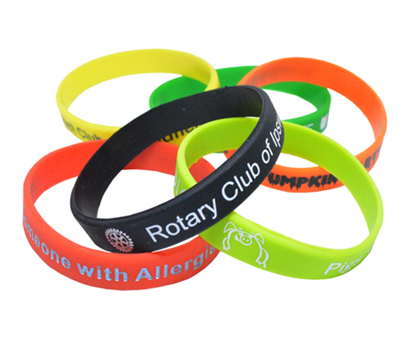 Promotional Wristbands - Custom made silicone or fabric bands