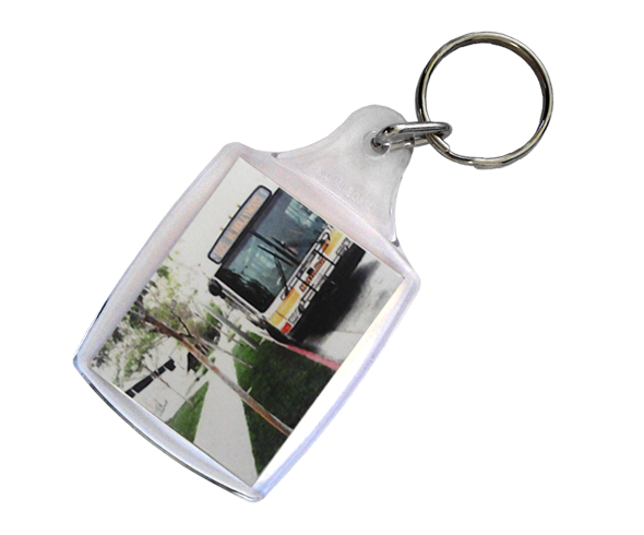 Acrylic Keyrings - 45mm x 35mm