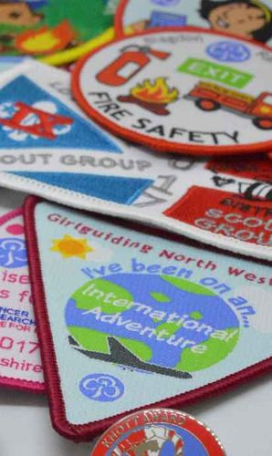 Guiding and Scouting - Badges for your troop, unit or blanket