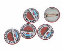 Branded button badge