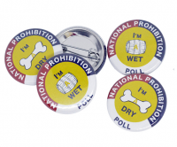 Full colour Button badges with a safety pin