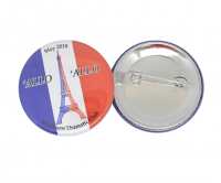 Promotional 45mm button badges