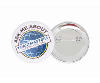Promotional button badges