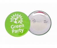 CMYK full colour button badge