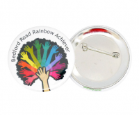 Full colour 58mm button badge