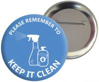 Keep It Clean Badge