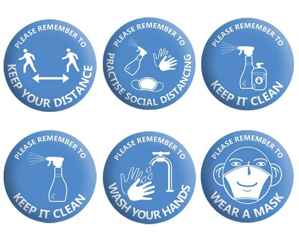 Covid Safety Badges