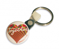 25mm Promotional keyrings