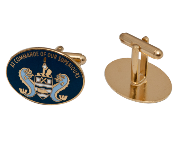 Enamelled Cufflinks