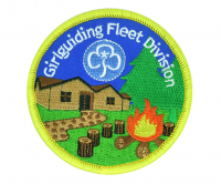 100% embroided badges with a merrow border