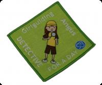 Woven Girl Guiding badge