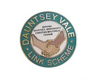 Traditional hard enamel badge with additional overprint
