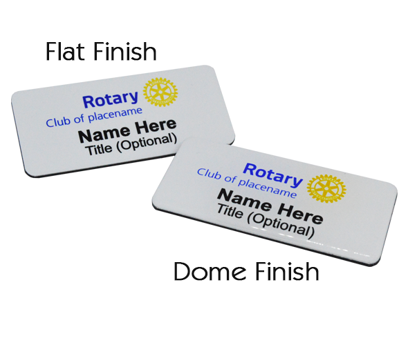 Rotary Name Badges