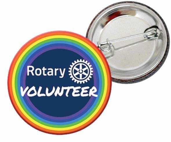 Rotary Volunteer Badges