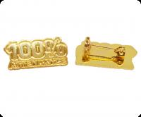 100% attendance - gold award