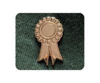 Gold Rosette badge