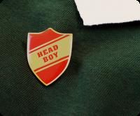 Shield shape Head boy badge