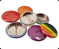 Plain Colours of 25mm Button Badges