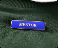 Soft Enamel bar badge with a brooch pin
