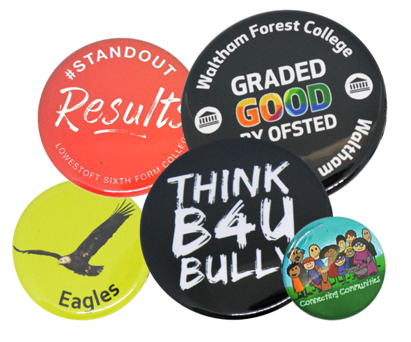 Custom Printed Button Badges