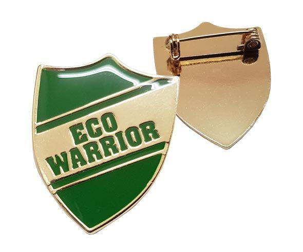 Eco Warrior Badges