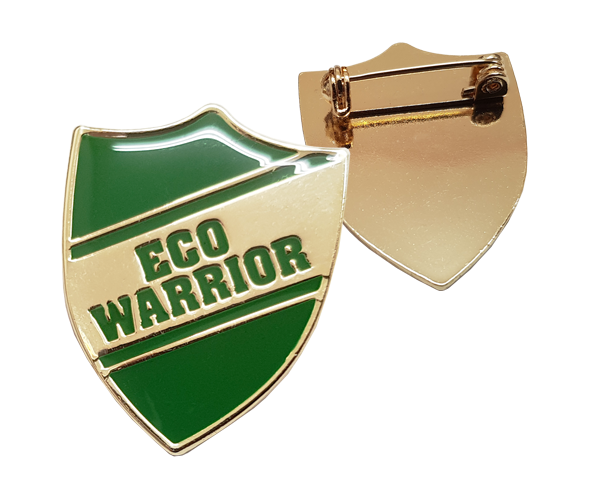 Eco Warrior Badges
