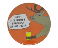 Custom stag do badges
