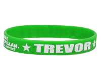 1 colour printed neon band