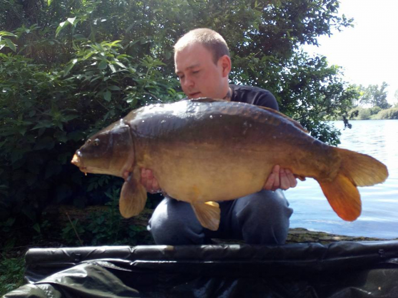 Zach Cox 31lb Mirror 22nd May 17