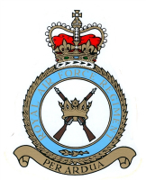 RAF Regiment Crest Stickers