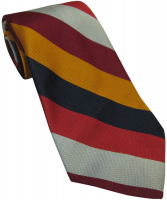 RAF Regiment Striped Tie Silk
