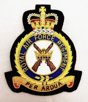 RAF Regiment Blazer Badge