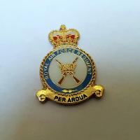 RAF Regiment Cufflink set in velvet box