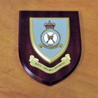 RAF Regiment Per Ardua Wooden Plaque