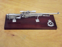 L96 Sniper Rifle Large Scale Weapon Plaque