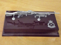 GPMG Large Scale Weapon Plaque
