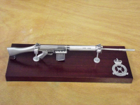 SLR Large Scale Weapon Plaque