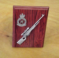 L96 Sniper Rifle Small Scale Weapon Plaque