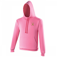 Hoodie Candy Floss Pink/Hot Pink